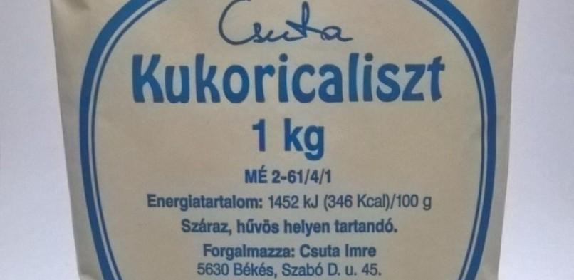 Kukoricaliszt 1 kg