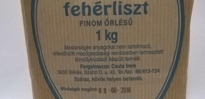 Tönköly fehérliszt 1kg