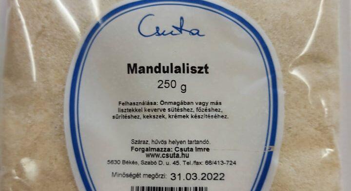 Mandulaliszt 250g